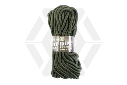 Mil-Com 9mm ParaCord, 15m (Olive) © Copyright Zero One Airsoft