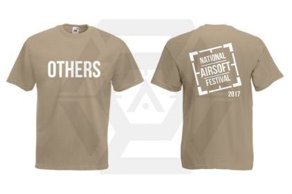 Daft Donkey Special Edition 'NAF 2017 Others' T-Shirt (Tan)
