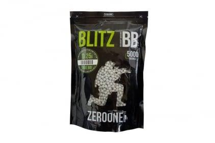 Zero One Blitz Bio BB 0.25g 5000rds (White) © Copyright Zero One Airsoft