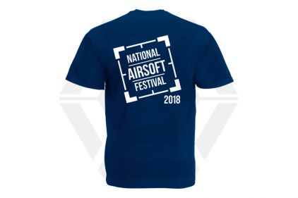Daft Donkey Special Edition NAF 2018 'Original Logo' T-Shirt (Navy)