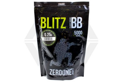 Zero One Blitz BB 0.25g 5000rds (Black)