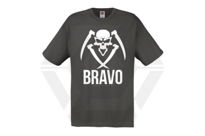 Daft Donkey Special Edition NAF 2018 'Bravo' T-Shirt (Grey) © Copyright Zero One Airsoft