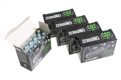 Zero One 8g CO2 Capsule Box of 50 (Bundle) © Copyright Zero One Airsoft