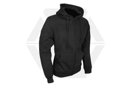 Viper Tactical Zipped Hoodie (Black) - Size Extra Large