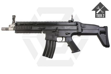 WE GBB SCAR-L (Black) with Tier 2 Upgrades (Bundle)