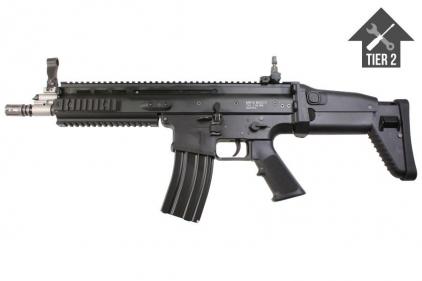 WE GBB SCAR-L (Black) with Tier 2 Upgrades (Bundle) - £379.95