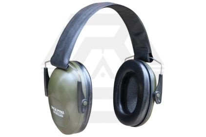 Jack Pyke Passive Ear Defenders (Olive)