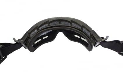 Blueye Tactical Goggles Granite Integrator Black Frame & Smoke/Clear Lenses