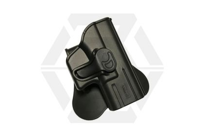 Amomax Rigid Polymer Holster for G26/27/33 (Black) © Copyright Zero One Airsoft