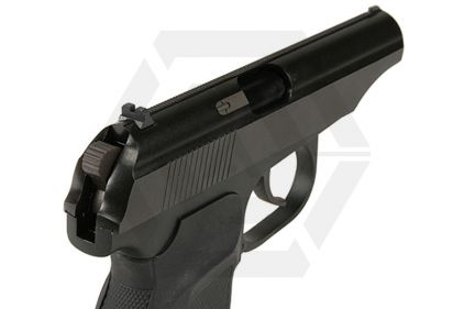 WE GBB Makarov 654K with Silencer (Black)
