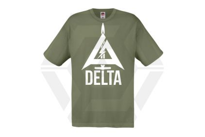 Daft Donkey Special Edition NAF 2018 'Delta' T-Shirt (Olive) © Copyright Zero One Airsoft