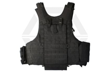 Mil-Force Elite Tactical MOLLE Vest (Black)
