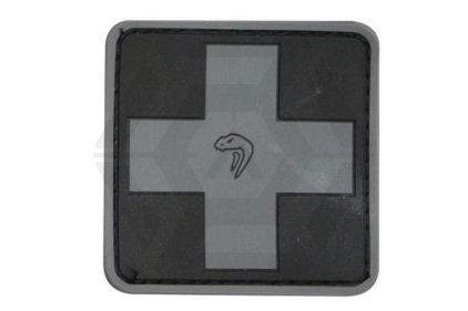 Viper Velcro PVC Medic Patch (Black) © Copyright Zero One Airsoft