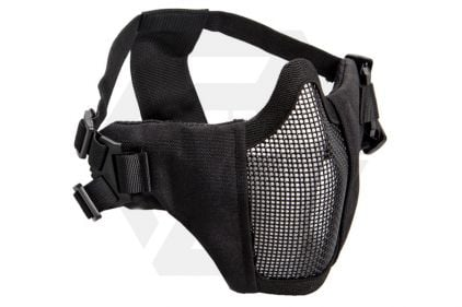 ASG Padded Mesh Mask (Black)