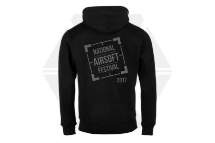 Daft Donkey Special Edition 'NAF 2017' Viper Zipped Hoodie (Black)