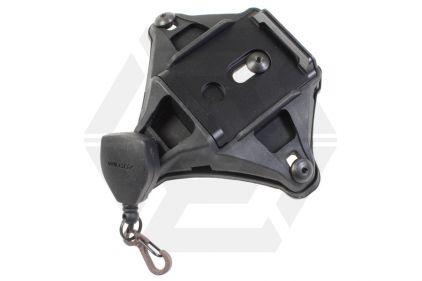 FMA L4 NVG Mount Shroud with Lanyard (Black)