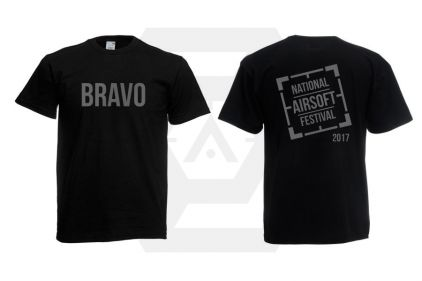 Daft Donkey Special Edition 'NAF 2017 Bravo' T-Shirt (Black)
