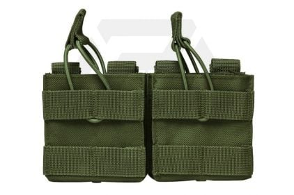 NCS VISM MOLLE Double Mag Pouch for .308 & 7.62 (Olive)