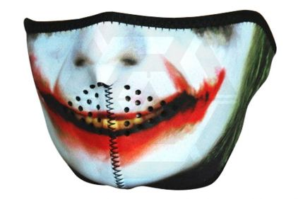Viper 'Joker' Neoprene Half Face Mask © Copyright Zero One Airsoft