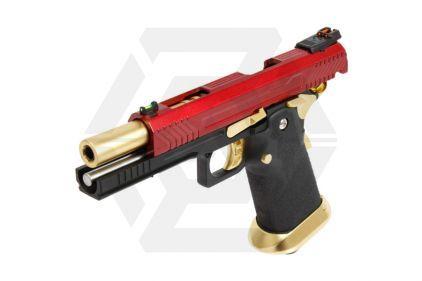Armorer Works GBB GAS/CO2 DualFuel Hi-Capa HX11 (Red/Gold)