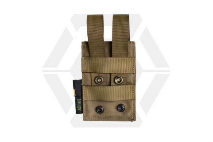101 Inc MOLLE Elastic Single M4 Mag Pouch (Coyote Tan)