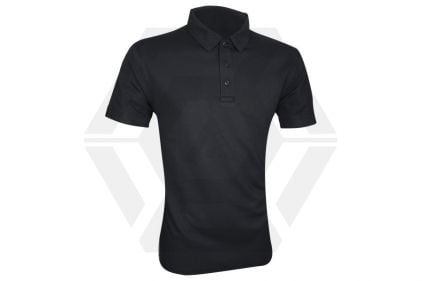 Viper Tactical Polo Shirt (Black) - Size Small