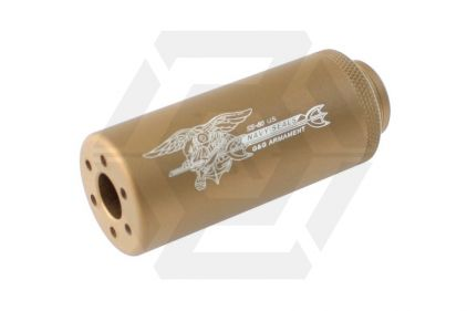G&G SS-80 Suppressor 14mm CCW (Tan)