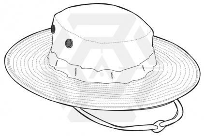 "Tru-Spec U.S. BDU Boonie (Desert Choc-Chip) - Size Small 7"""