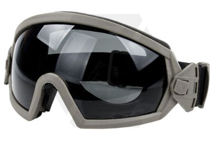 FMA Regulator Goggles with Clear/Tinted Lenses (Khaki)