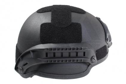 MFH ABS MICH 2002 Helmet (Black)