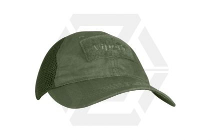 Viper Flexi-Fit Baseball Cap (Olive)