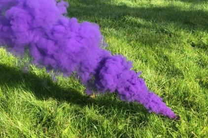 Enola Gaye Large Smoke (Blue)