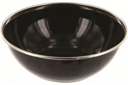 Highlander Deluxe Enamel Bowl (Black) | £1.95