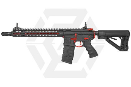 G&G Combat Machine AEG CM16 SR-XL with ETU (Black/Red)