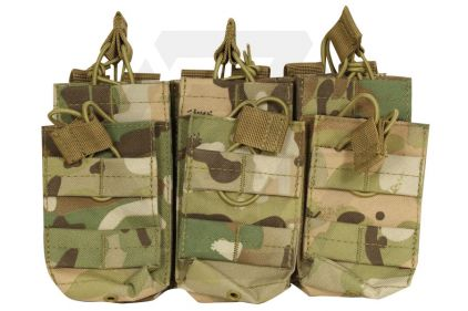 Viper MOLLE Quick Release Stacked Triple Mag Pouch (MultiCam)