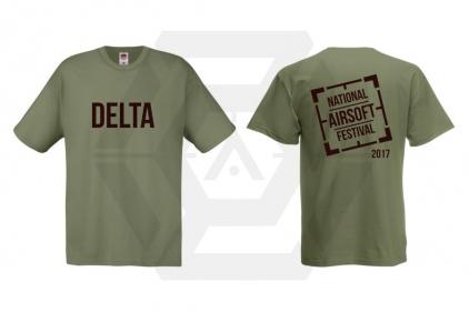 Daft Donkey Special Edition 'NAF 2017 Delta' T-Shirt (Olive)
