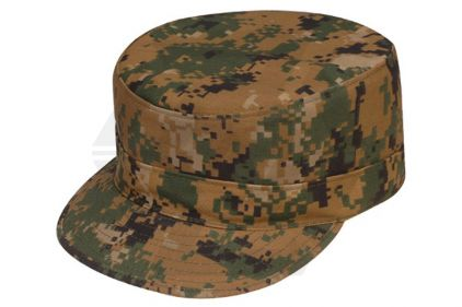 Tru-Spec Peaked Cap (Digital Woodland) - Size Extra Large