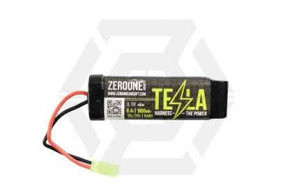 Zero One Tesla Battery 8.4v 1600mAh NiMH (Mini) © Copyright Zero One Airsoft