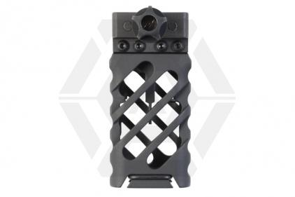 APS QD Compact Razor Cut Grip for 20mm Rail