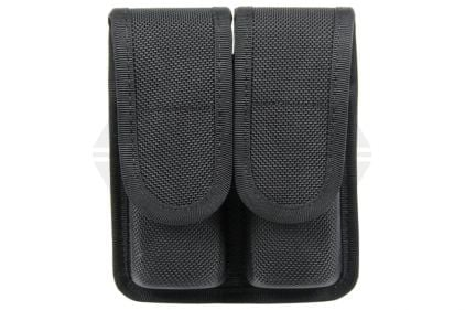 Blackhawk Duty Gear Double Mag Pouch - Staggered Column Mags (Black) © Copyright Zero One Airsoft