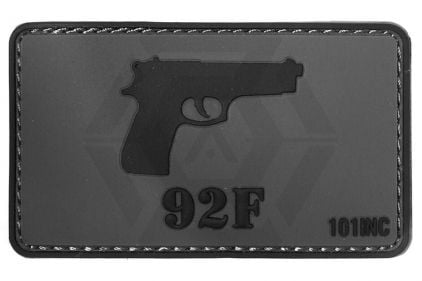 "101 Inc PVC Velcro Patch ""92F"""
