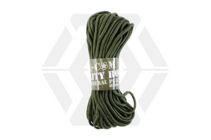 Mil-Com 5mm ParaCord, 15m (Olive) © Copyright Zero One Airsoft