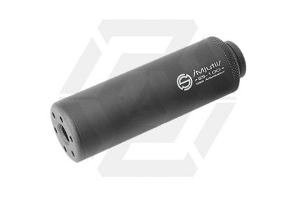 G&G Suppressor 14mm CCW/CW SS-100 (Black) © Copyright Zero One Airsoft