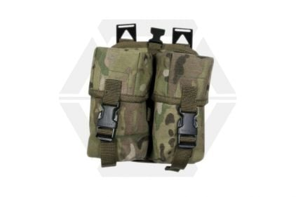 Web-Tex Double Ammo Pouch (MultiCam) © Copyright Zero One Airsoft
