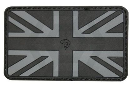Viper Velcro PVC Union Flag Patch (Black)
