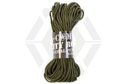 Mil-Com 3mm Utility Rope, 15m (Olive)