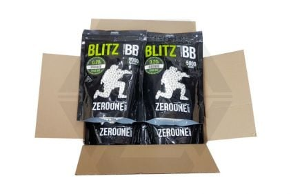 Zero One Blitz Bio BB 0.20g 5000rds (White) Box of 10 (Bundle) © Copyright Zero One Airsoft
