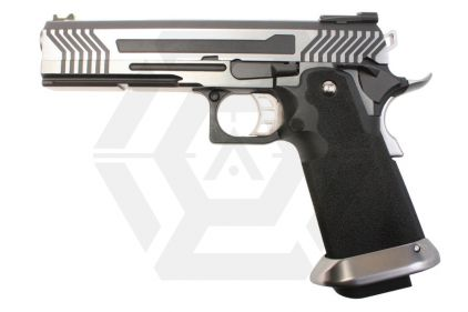 Armorer Works GBB GAS/CO2 DualFuel Hi-Capa HX11 (Silver/Black)