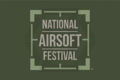 Ground Zero Flag 'National Airsoft Festival' - 100cm x 150cm © Copyright Zero One Airsoft
