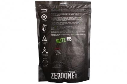Zero One Blitz BB 0.25g 5000rds (White) Box of 10 (Bundle)